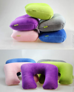 High Quality Inflatable Neck Pillow/Travel Neck Pillow pictures & photos