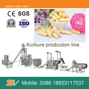 Ce Standard Full Automatic Corn Snacks Kurkure Maker pictures & photos