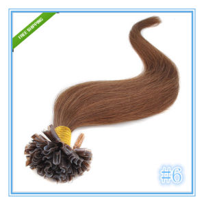 Remy Nail U Tip Human Hair Extensions pictures & photos
