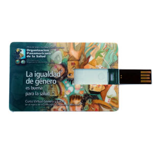 Promotional Credit Card Size 4GB USB