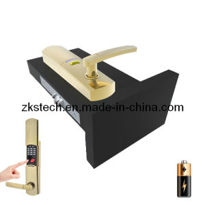 CE Certification DC6V Fingerprint&Password Door Lock Zks-L2g