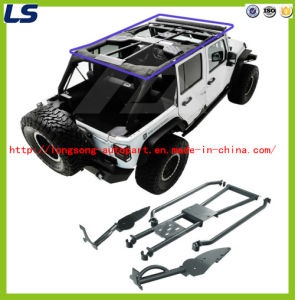 07-16 for Jeep Wrangler Jk (4 Door) Steel Iron Roll Cage Kits Roof Rank