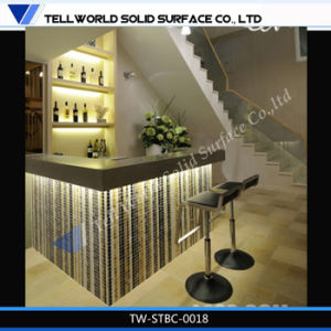 150 Kinds Design of Custom Translucent Home Furniture Acrylic Marble LED Home Bar Counter pictures & photos
