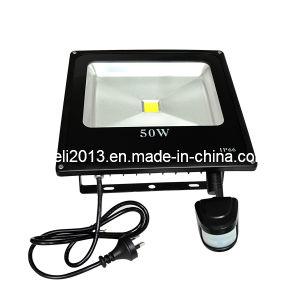 Outdoor LED Flood Light PIR Motion Sensor 50W IP65 pictures & photos