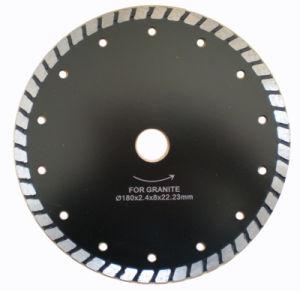 Diamond Turbo Saw Blade with Square Segment