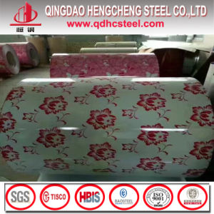 Wooden Pattern PPGI/Flower Grained Color Coil/Printed PPGI Steel Coil pictures & photos