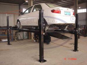 Wld-Qjy432p Four Post Parking Lift Hot Sale pictures & photos