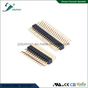 Pin Header Pitch 2.54mm  Dual Row Horizontal SMT  Type H2.54mm pictures & photos