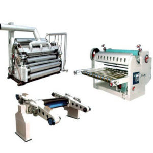 Dwj Series Single Wall Corrugated Cardboard Making Machine pictures & photos