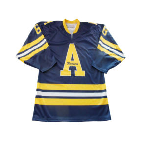 Custom Printing Ice Hockey Team Jersey with Numbers pictures & photos