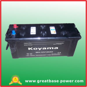 Heavy Duty Truck Battery 683-120ah 12V pictures & photos
