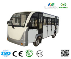 Electric Minibus Passengers Sightseeing Car