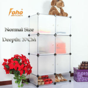 White Plastic DIY Storage Cbinet with Many Colors Available (FH-AL0525-6) pictures & photos