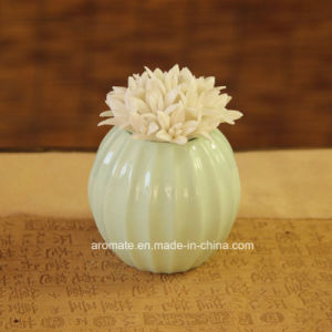 Decorative Ceramic Flower Aroma Reed Diffuser (CD-03) pictures & photos