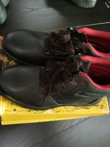 PU Leather Safety Shoes for Construction pictures & photos