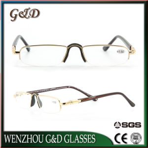Latest Design High Quality Metal Reading Glasses with Case pictures & photos