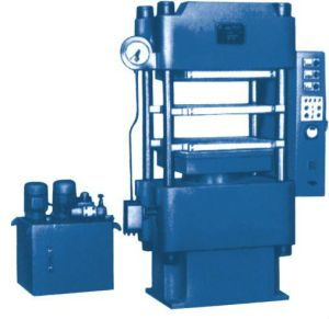 Four-Column Hydraulic Rubber Press pictures & photos