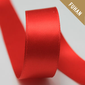 Hot Product Pure Red Color Polyester Gift Ribbon pictures & photos