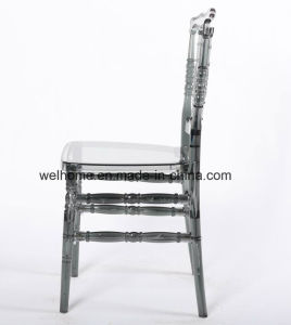 PC Material Clear Color Resin Napoleon Chair for Sale pictures & photos