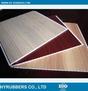 Laminated Wood Colour PVC Panels pictures & photos
