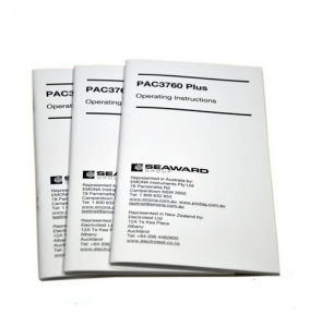 Cheap Black Booklets Printing Service (jhy-830)