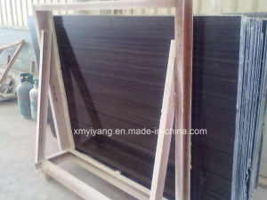 Black / Purple Marble Slabs for Floor Tile / Tile pictures & photos
