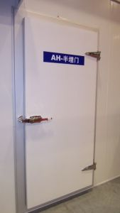 Ce Quality Semi-Sunk Hinge Door for Freezer pictures & photos