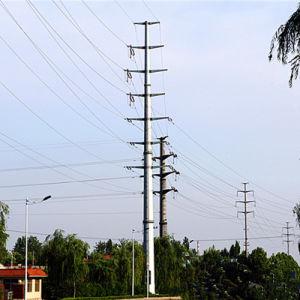 110 Kv Monopole Tower Power Transmission pictures & photos
