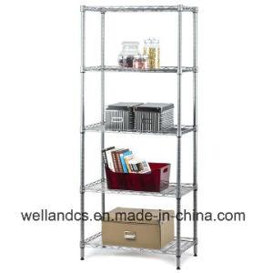 NSF Metro Standard 5 Shelves Metal Chrome Wire Racks Storage for Sale pictures & photos