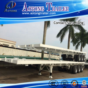 2016 Top Ranking 40FT Flatbed Semi-Trailer/Container Trailer for Sale pictures & photos