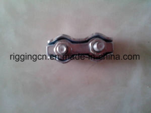 Steel Simplex Wire Rope Clip Cable Clamp Single Bolt pictures & photos