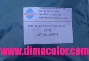 Phthalocyanine Green G Pigment Green 7 pictures & photos