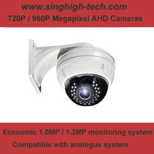 720p 1MP Vandalproof Dome Varifocal Ahd Camera (NS-3039V)