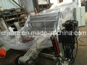 Plastic Film Roll Sheeting Machine with Shaftless Unwind System pictures & photos