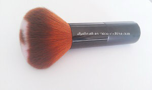 Powder Brush with Colorful Head