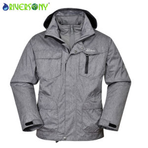 3 in 1 Outdoor Jacket with Fully Taping Seams pictures & photos