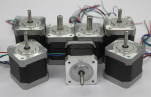 3 Phase 3.75 Degree NEMA 17 Hybrid Stepper Motor pictures & photos