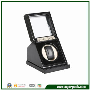 Single Black Auto Wood Watch Winder pictures & photos