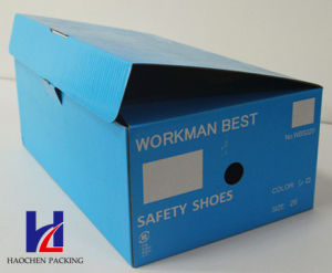 Durable High Quality Corrugated Folding Box/ Rigid Shoe Box pictures & photos