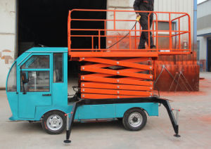 Battery Vehicular Lift Platform pictures & photos