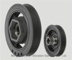 Torsional Vibration Damper / Crankshaft Pulley for Honda 13810rzp003 pictures & photos