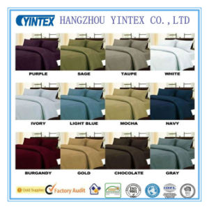 Popular Home/Hotel Bedding Sets High Quality Microfiber Bedding Sets pictures & photos