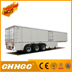 Low Price Transport Stability Van-Type Semi-Trailer pictures & photos