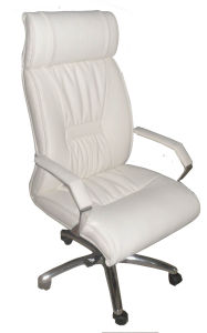 Executive Office Chair in White Leather (Z0030-1) pictures & photos