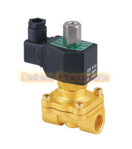 "1/2"" Inch Brass Solenoid Valve 24V DC Electric Air Water Gas Normally Open 2W160-15-No"