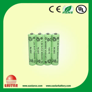 AAA 600mAh 1.2V Ni-MH Battery Rechargeable Battery for Electronic Toys pictures & photos