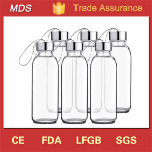 Stainless Steel Cap Glass Beverage Bottles Wholesale 16oz pictures & photos