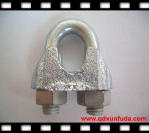 Galvanized Malleable Iron Steel Cable Clip pictures & photos