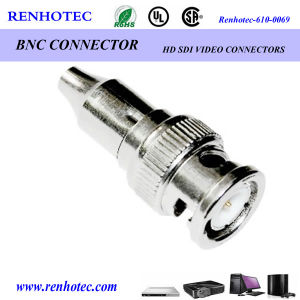 Male Gender Straight BNC Connector RF Connector pictures & photos