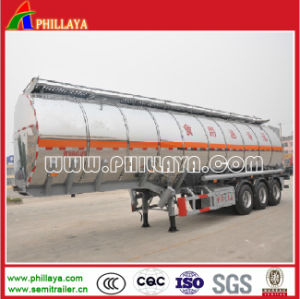 China Semi Tank Trailer Aluminium Tank for Edible Oil/Water Storage pictures & photos